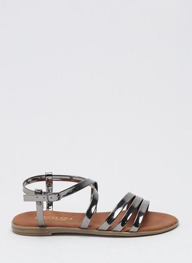Shoes1441 Sandalet Gümüş